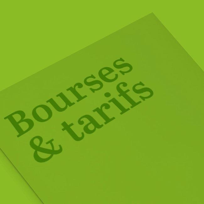 push Bourses & tarifs