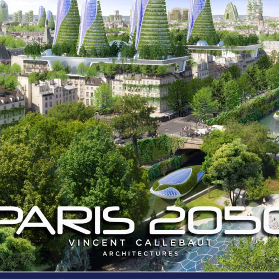 Paris smart city 2050 - Vincent Callebaut