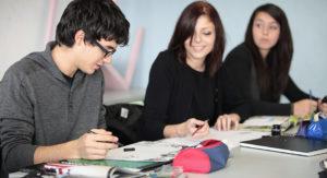 étudiants en design graphique