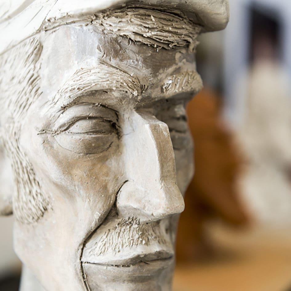 Cours de sculpture en prépa artistique