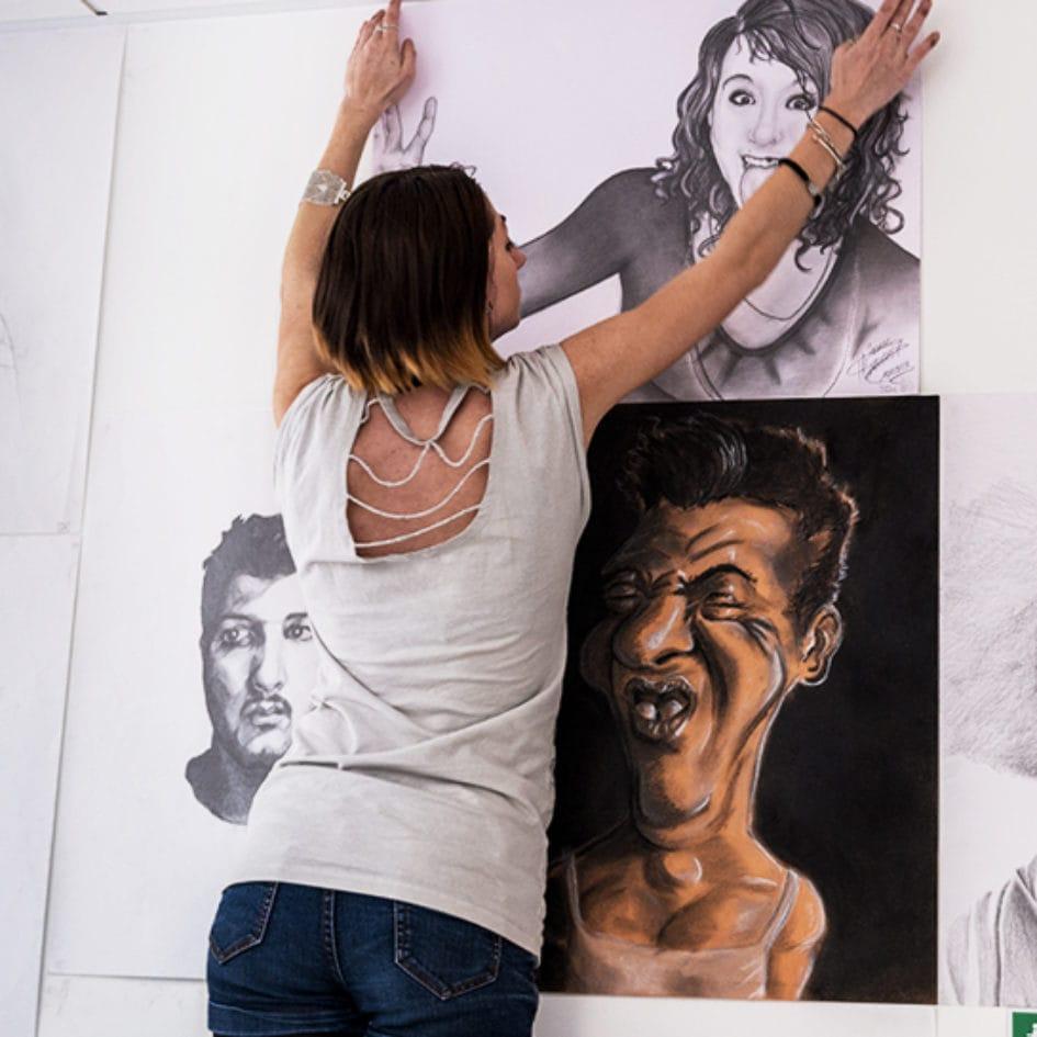 Dessins de portraits MANAA