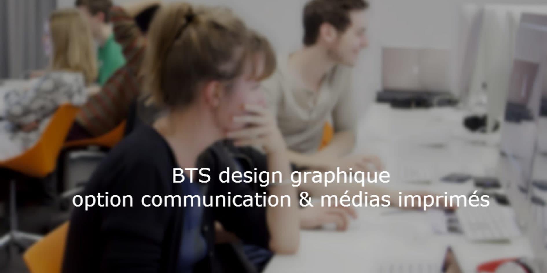 LE BTS Design Graphique c'est quoi ?