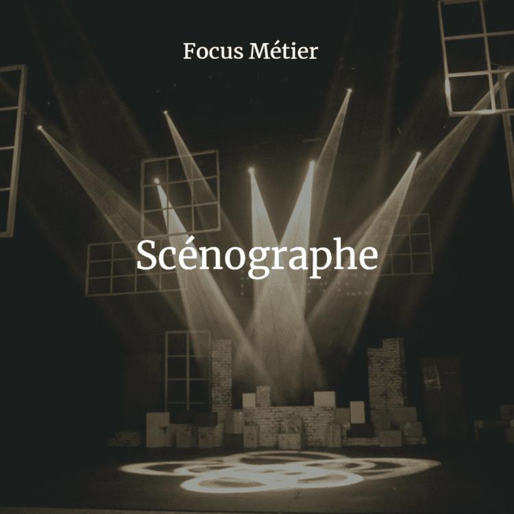 focus métier scénographe